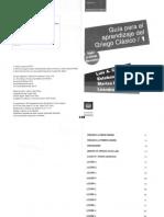 05082122 MASCIALINO - Guía Para El Aprendizaje Griego Clásico (Edición 2018)
