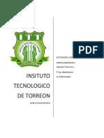 .Actividades de La II y II Unidad Auditoria Administrativa