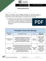 Producto Académico N°01 - TALLER DE LIDERAZGO