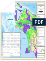 PETA Kehutanan Papua 2012
