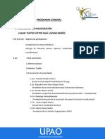 Programa General -Xii Congreso Nacional de Derecho Constitucional
