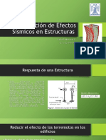 Disminución de Efectos Sísmicos en Estructuras
