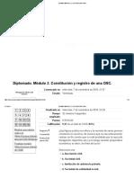 Examen Módulo 2. Calificación Final