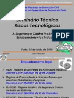A Segurança Contra Incêndios em Estabelecimentos Industriais - Eng.º Vitor Primo (ANPC)