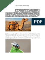 Binatang Dan Manfaatnya Yang Terkandung Dalam Al