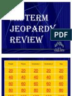 2010 Midterm Jeopardy