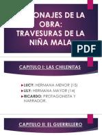 PERSONAJES DE LA OBRA LA NIÑA MALA.pptx