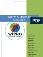 Wipro Strategic Overview