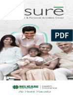 Assure (Critical Illness Product) Brochure