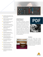 BEHRINGER_MODEL D P0CQJ_Product Information Document
