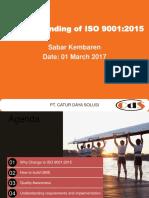 Pengenalan ISO9001-2015 LAPAN