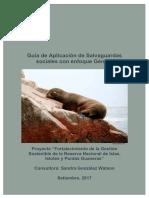 Guía de Aplicación de Salvaguardas Sociales y de Género