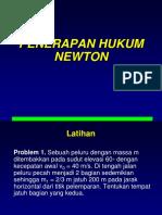 Soal Penerapan Hukum Newton