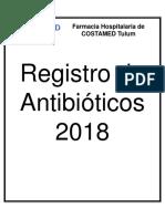 Registro de Antibióticos