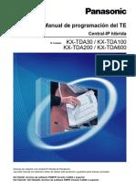 Manual de Programacion Del TE