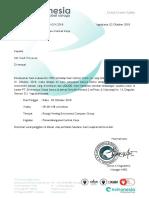 Surat Panggilan Review Kontrak Kerja
