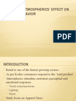 In-Store Atmospherics' Effect on Buyer Behavior
