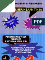 Prak Blok 11 Pemerik Tinja Prot & Nem Usus Fk Reg 2006