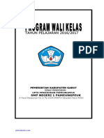 Program kerja Wali kelas Revisi.doc