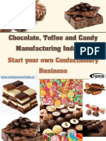 Chocolate, Toffee and Candy Manufacturing Industry