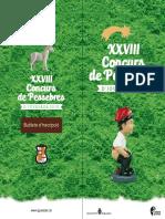 Concurs Pessebres 2018