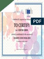 Codeweek Diploma (1)