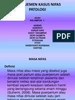 Powerpoint Manajemen Kasus Nifas