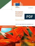 Previsiones económicas de otoño de la Comisión Europea
