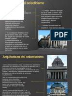 Arquitectura Segunda Mitad Del XIX. Eclecticismo, Historicismo. Nuevos Materiales