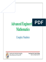 Advanced Engineering Math - Complex Numbers.pdf