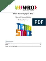 WRO 2017 ARC Tetrastack Building Directions