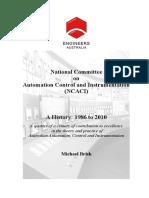 Ncaci - A History 1986-2010