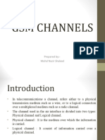 GSM Physical and Logical Channels PPT