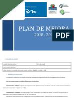 Plan de Mejora 18-19