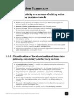 IGCSE Business Studies Quick Revision Summary