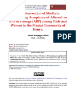 The Intervention of Media in Determining Acceptance of Alternative Rite of Passage (ARP) among Girls and Women in the Maasai Community of Kenya..pdf