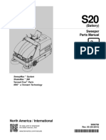 Tennant s20 Parts Manual Battery