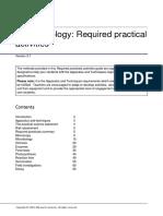 Aqa 8461 Practicals