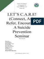 Suicide CONCEPT PAPER
