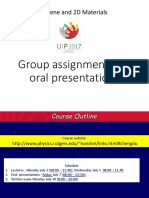 Oral Presentations 15groups Old