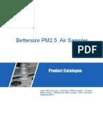 Monitoreo de Aire BTPM-HS10