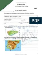 A1 1.2 Características Naturais Da Península Ibérica