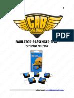 Emulator - Passenger Seat Occupant Detector En