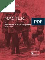 Master en direccion cinematografica