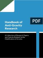 Handbook of Anti-Gravity Research