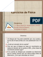 Dinamica-ejercicios LINEAL 2