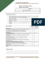 Pauta de Evaluación Individual Arte Cinético