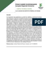 Impactos Da Lei 13.409_2016 No Instituto Federal Do Paraná