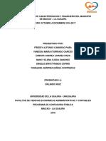 Informe de Caracterizacion General y Financiero Del Municipio de Maicao