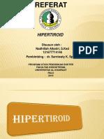 Hipertiroid Dila